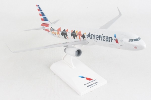 """Airbus A321 American Airlines """"Stand Up To Cancer"""" N162AA Scale 1/150"""