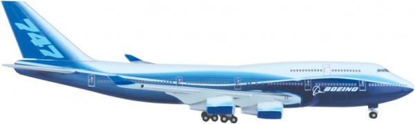 Boeing 747-400 House Color Scale 1:500