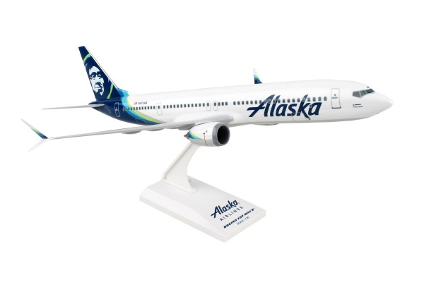 Boeing 737 MAX9 Alaska Airlines Scale 1/130