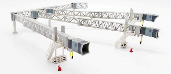 Airport Passenger Bridge A380 (Transparent) Scale 1/200 #