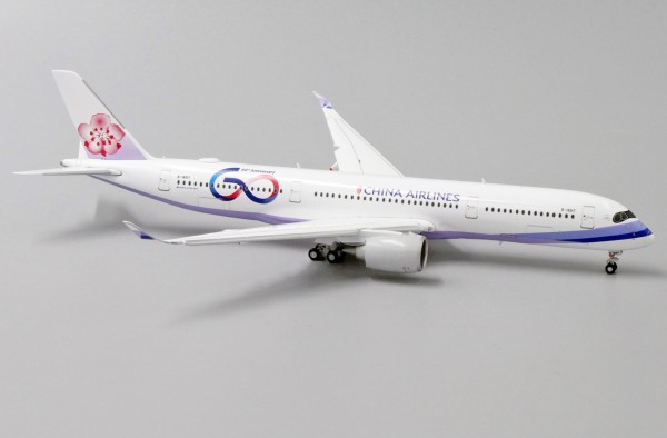 """Airbus A350-900XWB China Airlines """"60th Anniversary"""" Flaps Down Version B-18917 Scale 1/400"""