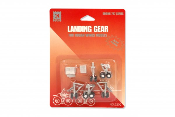 Fahrwerk / Landing gear B747 Series for Hogan Wings Models
