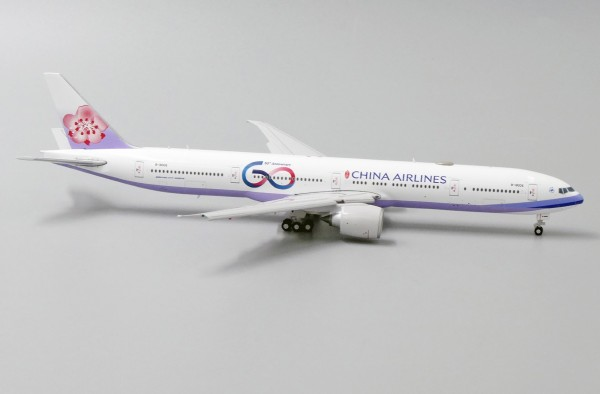 """Boeing 777-300ER China Airlines """"60th Anniversary"""" Flaps Down Version B-18006 Scale 1/400"""
