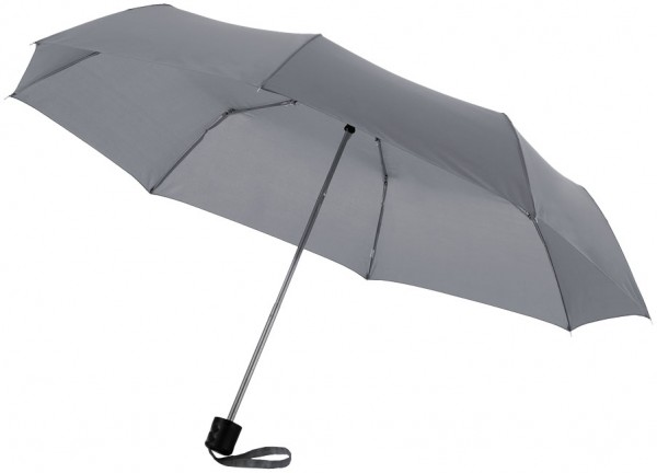 Mini-Taschenschirm grau / Umbrella grey