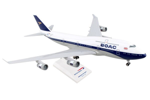 "Boeing 747-400 British Airways ""BOAC 100 YEAR LIVERY"" Scale 1/200"