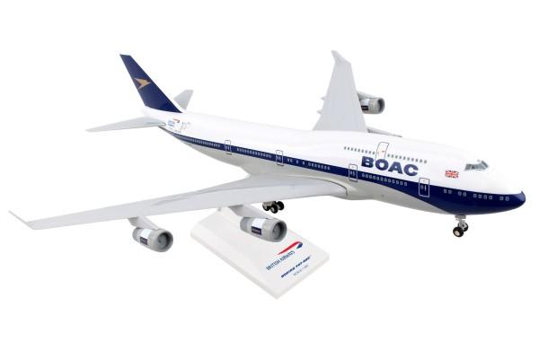 "Boeing 747-400 British Airways ""BOAC 100 YEAR LIVERY"" G-BYGC Scale 1/200"