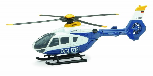 Airbus Helicopter H135 Police Scale 1/100