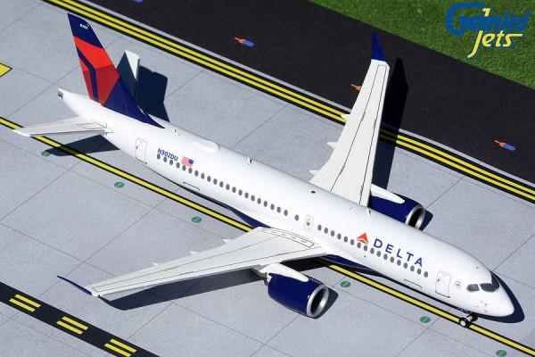 Airbus A220-300 Delta Air Lines N302DU Scale 1/200