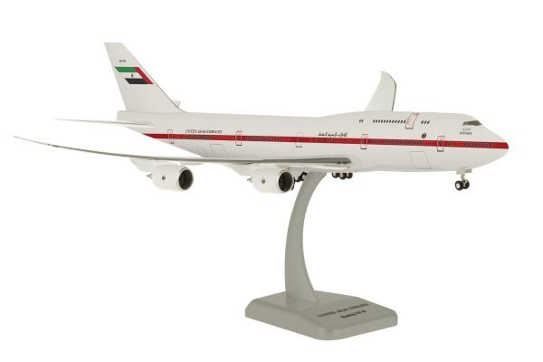 Boeing 747-8 United Arab Emirates A6-PFA Scale 1:200