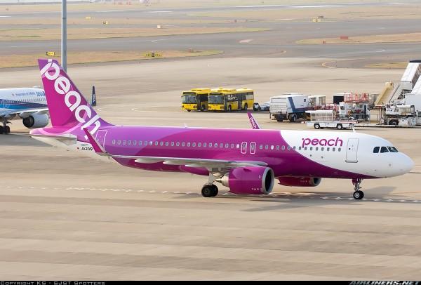 Airbus A320neo Peach Aviation JA201P Scale 1/400