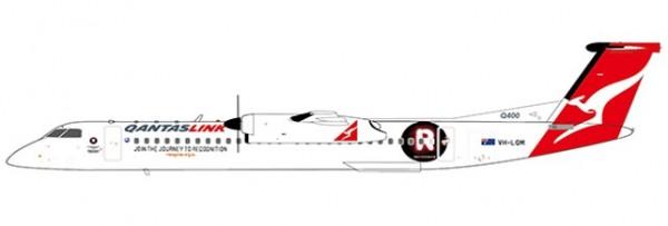 "Bombardier Dash8-Q400 QantasLink ""Recognise.org.au Livery"" VH-LQM Scale 1/200"