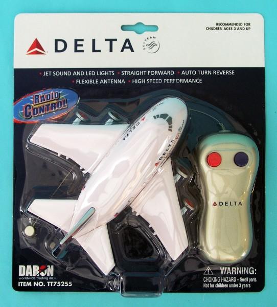 Delta Airlines R/C plane