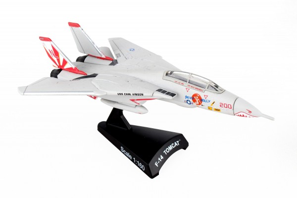 POSTAGE STAMP Grumman F-14A Tomcat Miss Molly Scale 1/160