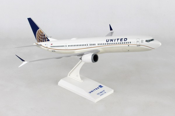 Boeing 737-MAX9 United Airlines Scale 1/130