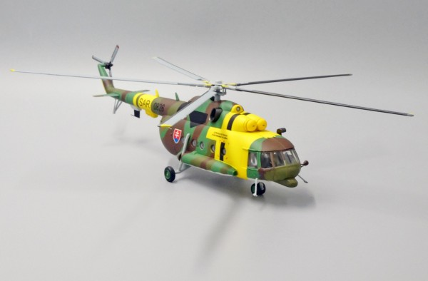 Mil Mi-17 Hip Slovakia Air Force 1st Training and SAR Squadron,2014 Scale 1/72