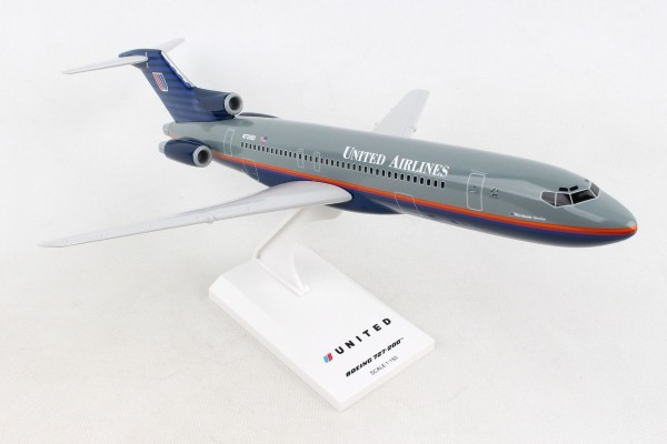 """Boeing 727-200 United Airlines """"90´s Scheme"""" Scale 1/150"""