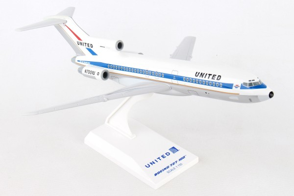 "Boeing 727-100 United Airlines ""Museum of Flight"" Scale 1/150"