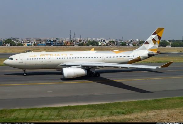 Airbus A330-200 Etihad Airways A6-EYH Scale 1/400