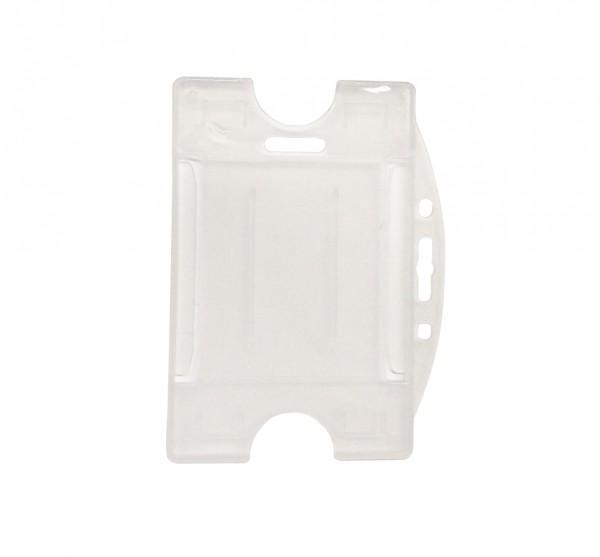 Ausweishülle aus Hartplastik /card wallet hard plastic Version II