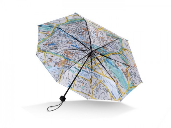 """Mini-Taschenschirm Stadtplan / Umbrella Rainmap City """"Nürnberg"""""""