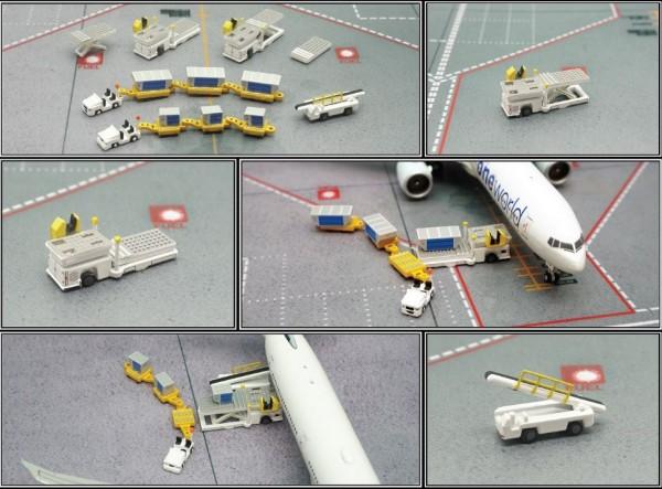 Cargo Ground Servie Equipment Scale 1/400 #