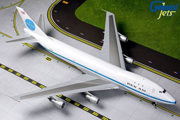 Boeing 747-100 Pan American World Airways N734PA Scale 1/200