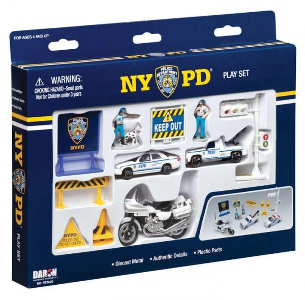 Police Department Play Set 12pcs