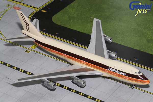Boeing 747-100 PEOPLExpress Scale 1/200