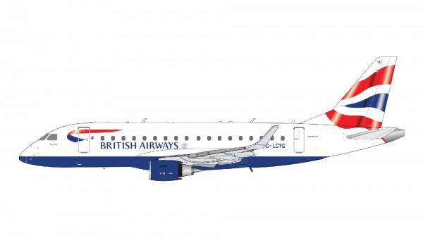 Embraer 170STD British Airways CityFlyer G-LCYG Scale 1/200