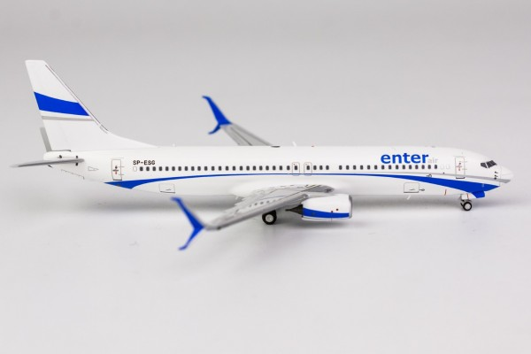 Boeing 737-800 Enter Air with scimitar winglets SP-ESG Scale 1/400