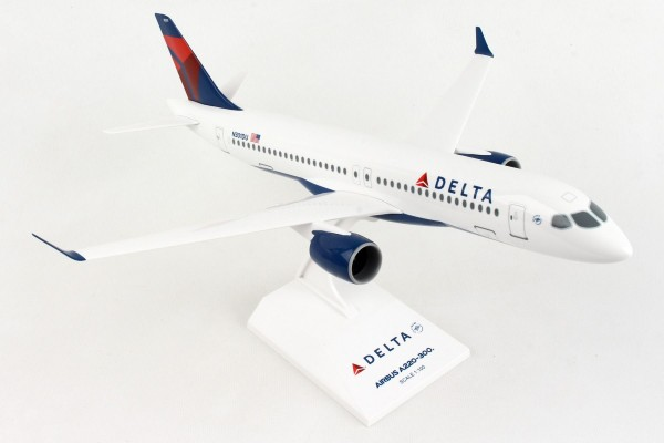 Airbus A220-300 Delta Air Lines N301DU Scale 1/100