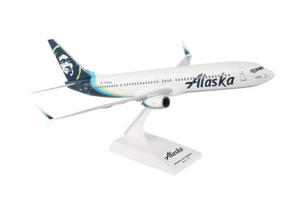 Boeing 737-900 Alaska Airlines 2016 Livery Scale 1/130