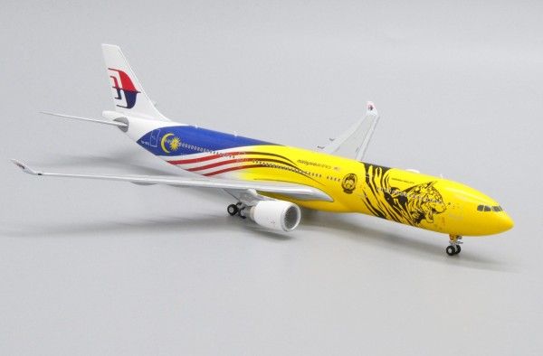 "Airbus A330-300 Malaysia Airlines ""Harimau Malaya Livery"" 9M-MTG Scale 1/400"