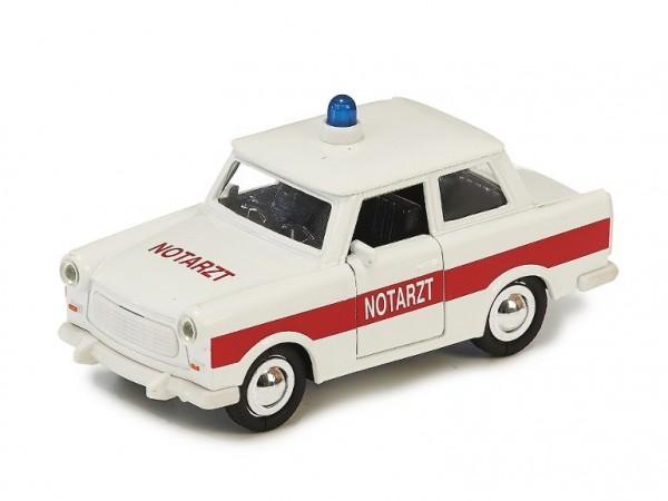 """Pullback car """"Emergency"""" Scale 1:30 (12cm)"""