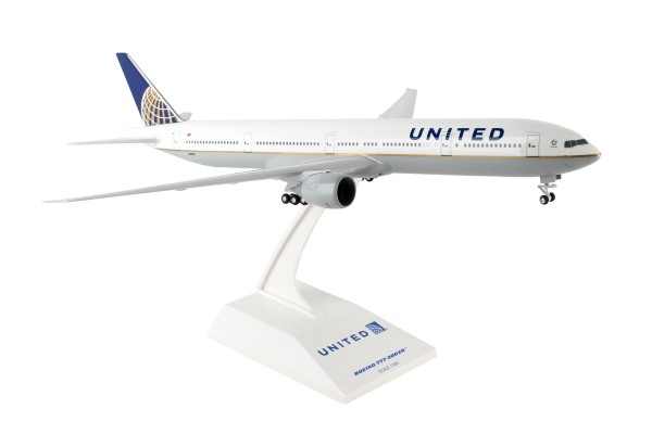Boeing 777-300ER United Airlines Scale 1/200 w/G