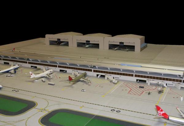 Airport Mat Expansion Set GeminiJets Scale 1/400