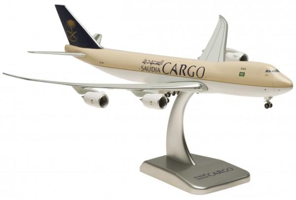 Boeing 747-8F Saudi Arabian Cargo Inflight Wings HZ-A14 Scale 1:400