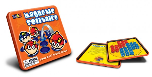 Magnetic Solitaire Travel Games
