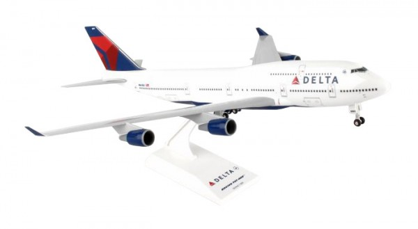 Boeing 747-400 Delta Air Lines Scale 1/200