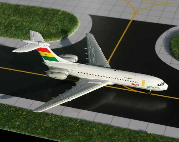 Vickers Standard VC-10 Ghana Airways 9G-ABO Scale 1/400