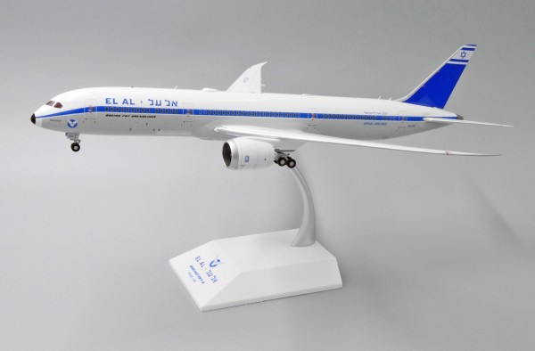 "Boeing 787-9 El Al Israel Airlines ""Retro Livery"" 4X-EDF Scale 1/200"