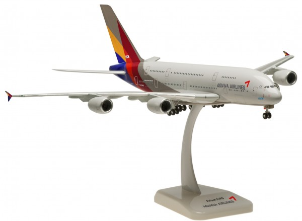 Airbus A380-800 Asiana Airlines HL7625 Scale 1:200