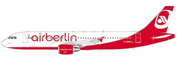 """Airbus A320 Air Berlin """"Last Flight"""" D-ABNW Scale 1/200 LIMITED EDITION!"""