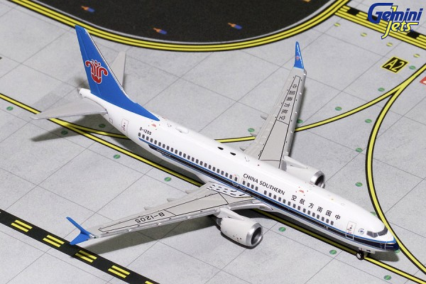 Boeing 737 MAX 8 China Southern Airlines B-1205 Scale 1/400