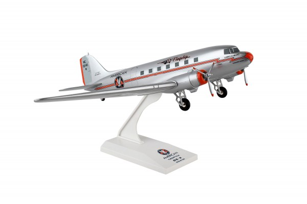 Douglas DC-3 American Airlines Flagship Tulsa Scale 1/80 w/G