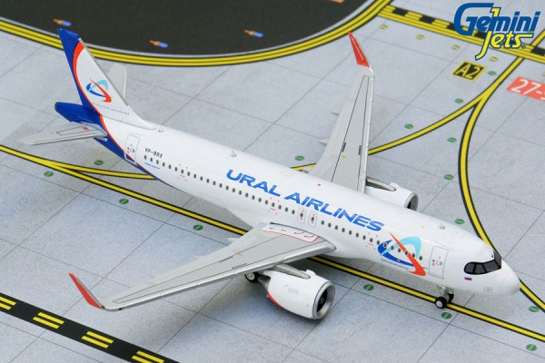 Airbus A320neo Ural VP-BRX Scale 1/400