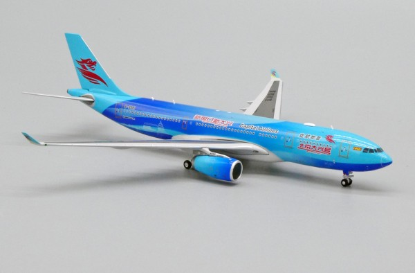"""Airbus A330-200 Capital Airlines """"Beijing Daxing Livery"""" B-8981 Scale 1/400"""