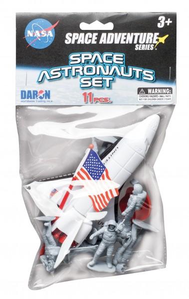 Space Astronauts - 11pcs Space Set in Bag