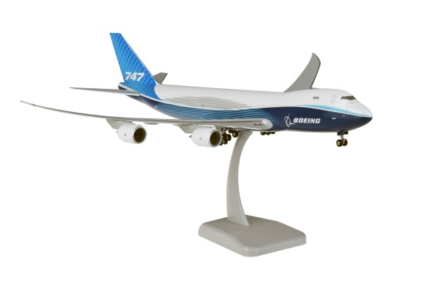 Boeing 747-8F House Color New Livery 2019 Scale 1:200