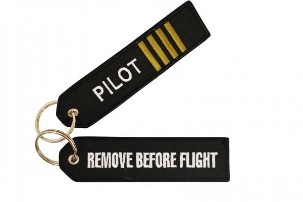 Key ring - Pilot Keyring with Stripes #